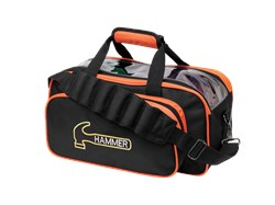 Hammer Premium Double Tote Black/Orange Main Image
