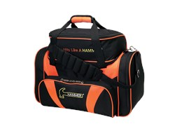 Hammer Deluxe Double Tote Black/Orange Main Image