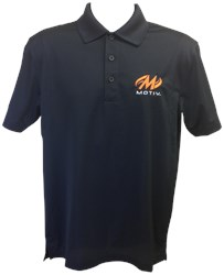 Motiv Mens Zenith Polo Black/Orange Main Image