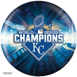 OnTheBallBowling 2015 World Series Champion Kansas City Royals Main Image