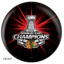OnTheBallBowling NHL 2015 Stanley Cup Champion Chicago Blackhawks Main Image