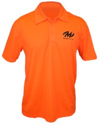 Motiv Mens Hypershock Polo Orange Main Image