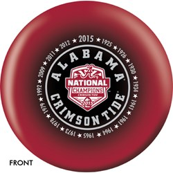 OnTheBallBowling Alabama 2015 National Champions Main Image